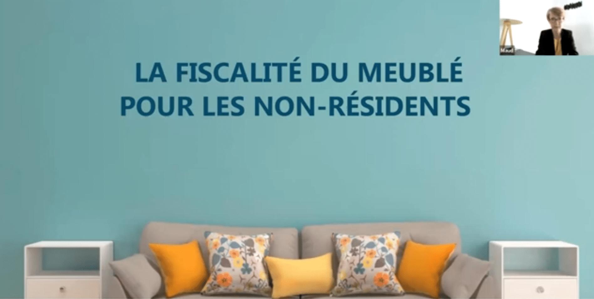 Replay Conference: Fiscalité LMNP LMP non-résidents